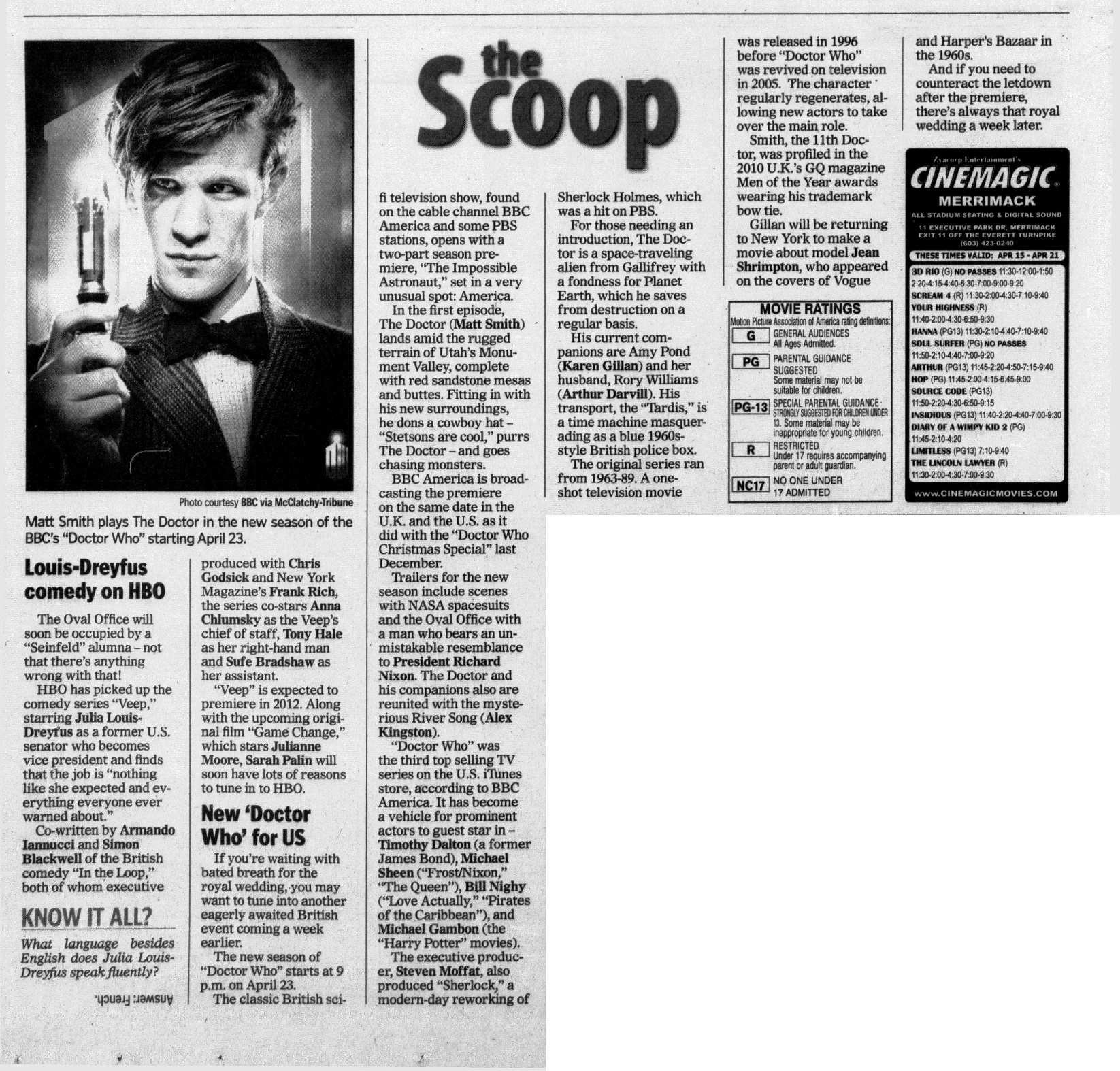 new doctor who for us the doctor who cuttings archive