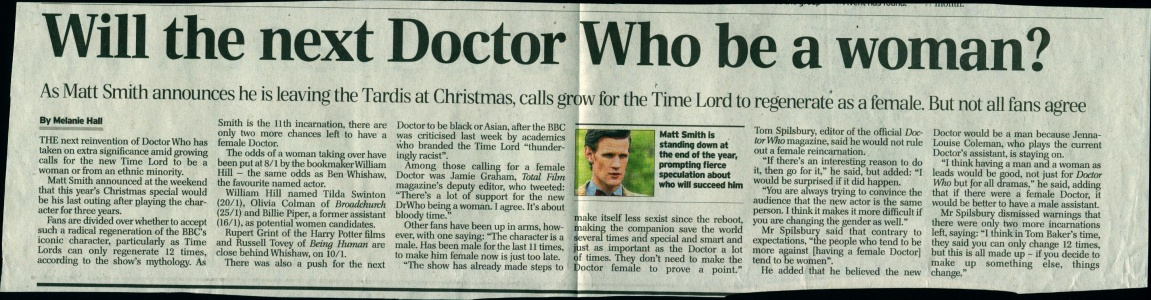 Will the next Doctor be a woman.jpg